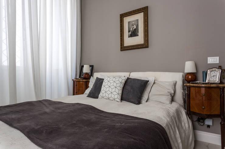 Projekty,  Sypialnia zaprojektowane przez Viú Architettura