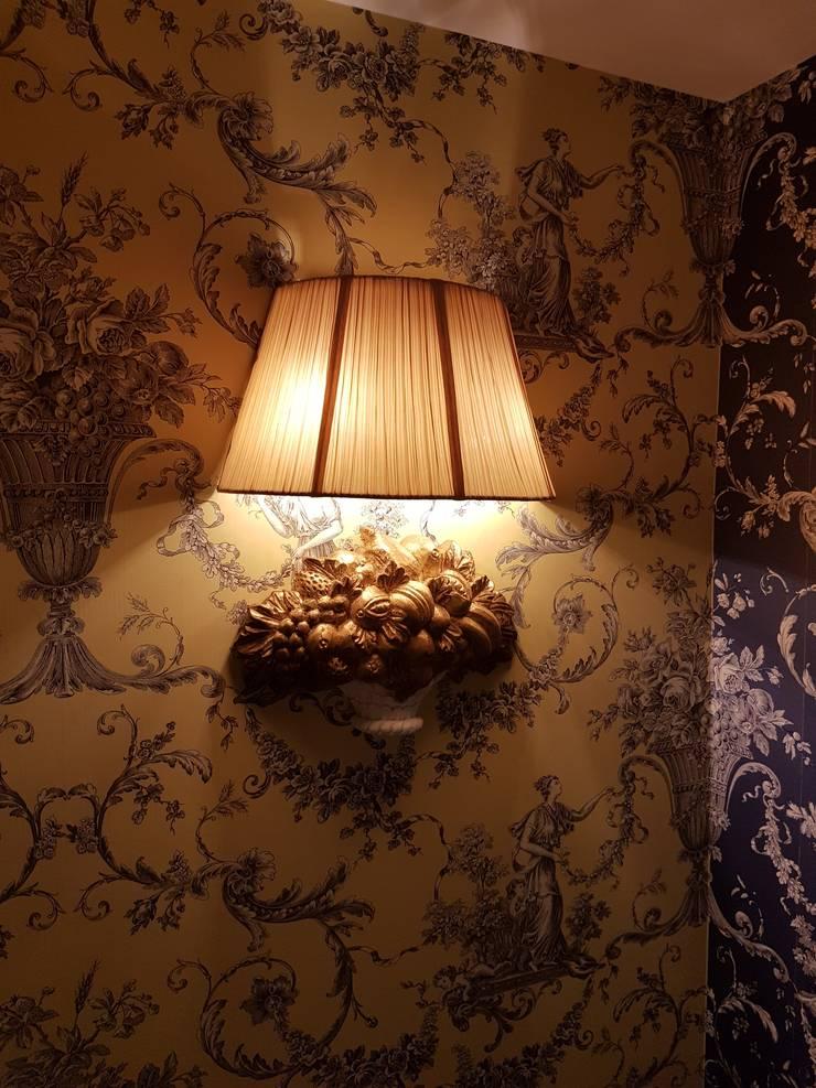 樓梯玄關壁燈CH-63841:  玄關、走廊與階梯 by 建鍾產業股份有限公司
