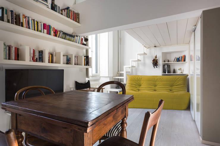 غرفة المعيشة تنفيذ Viú Architettura