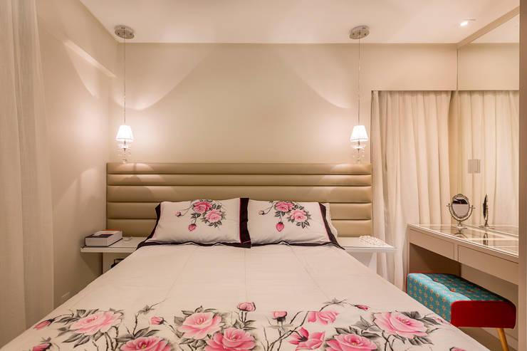Bedroom by DM ARQUITETURA E ENGENHARIA