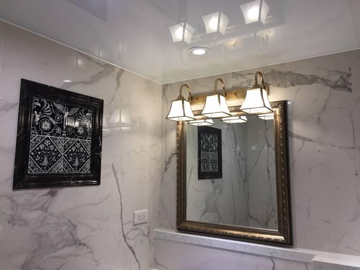 浴室壁燈B03-NB8563-03:  衛浴 by 建鍾產業股份有限公司