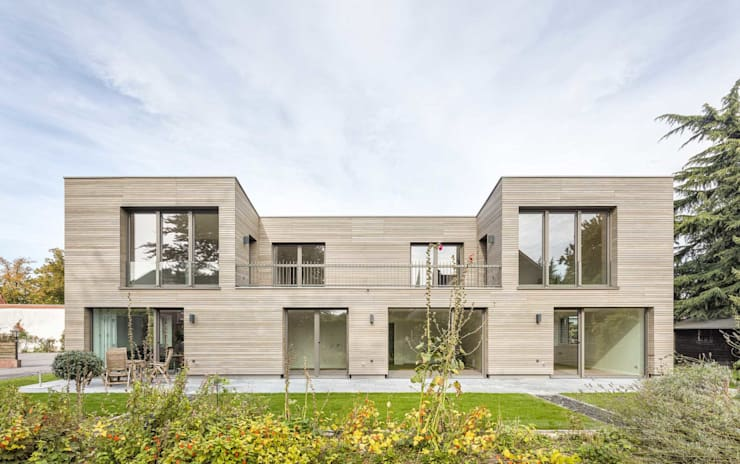 Modern houses by ZHAC / Zweering Helmus Architektur+Consulting Modern Wood Wood effect