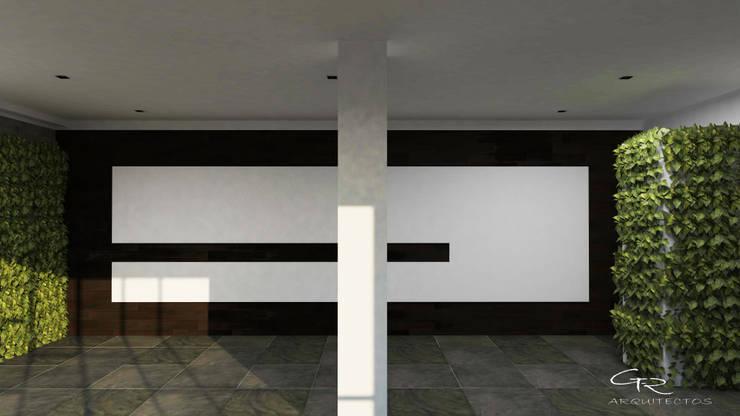 HOUSE SA-D TULA: Salas de estilo moderno por GT-R Arquitectos
