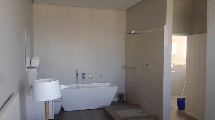 Bathroom Plus Bath Installed And Tiled Sea Point:   by CPT Painters / Painting Contractors in Cape Town