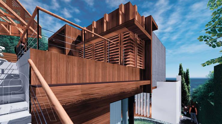 Вилла на море / Twisted house: Дома в . Автор – BOOS architects