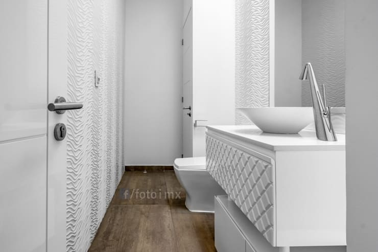Baños de estilo  por FOTOIMX: Fotógrafo de Inmuebles en CDMX