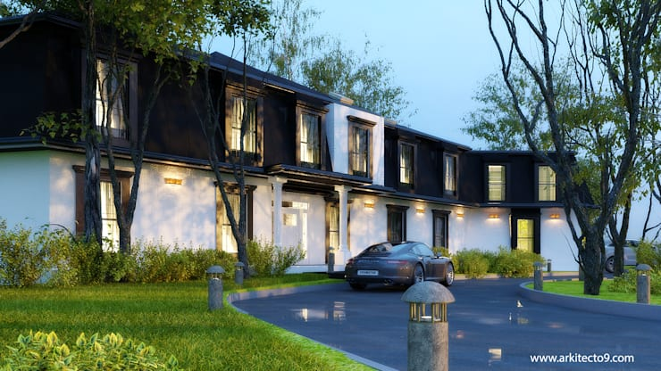 Casas multifamiliares de estilo  de arquitecto9.com,