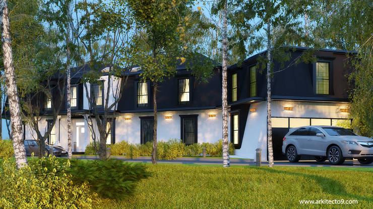 Casas de madera de estilo  de arquitecto9.com,