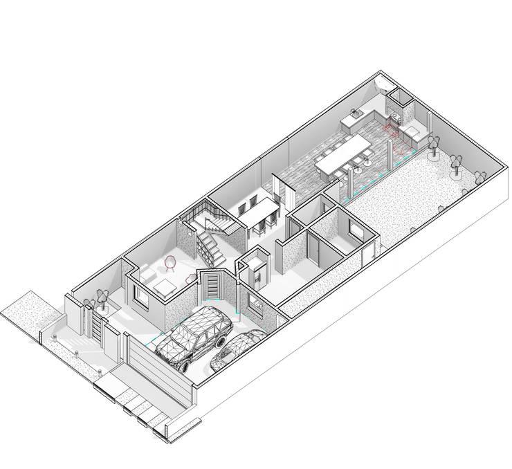 Casas unifamilares de estilo  de arquitecto9.com,