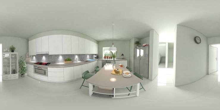 Cocinas integrales de estilo  de arquitecto9.com,