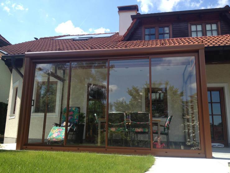 Sommergarten Mit Schiebeturen Aus Alu Und Glas Vom Wintergartenbauer