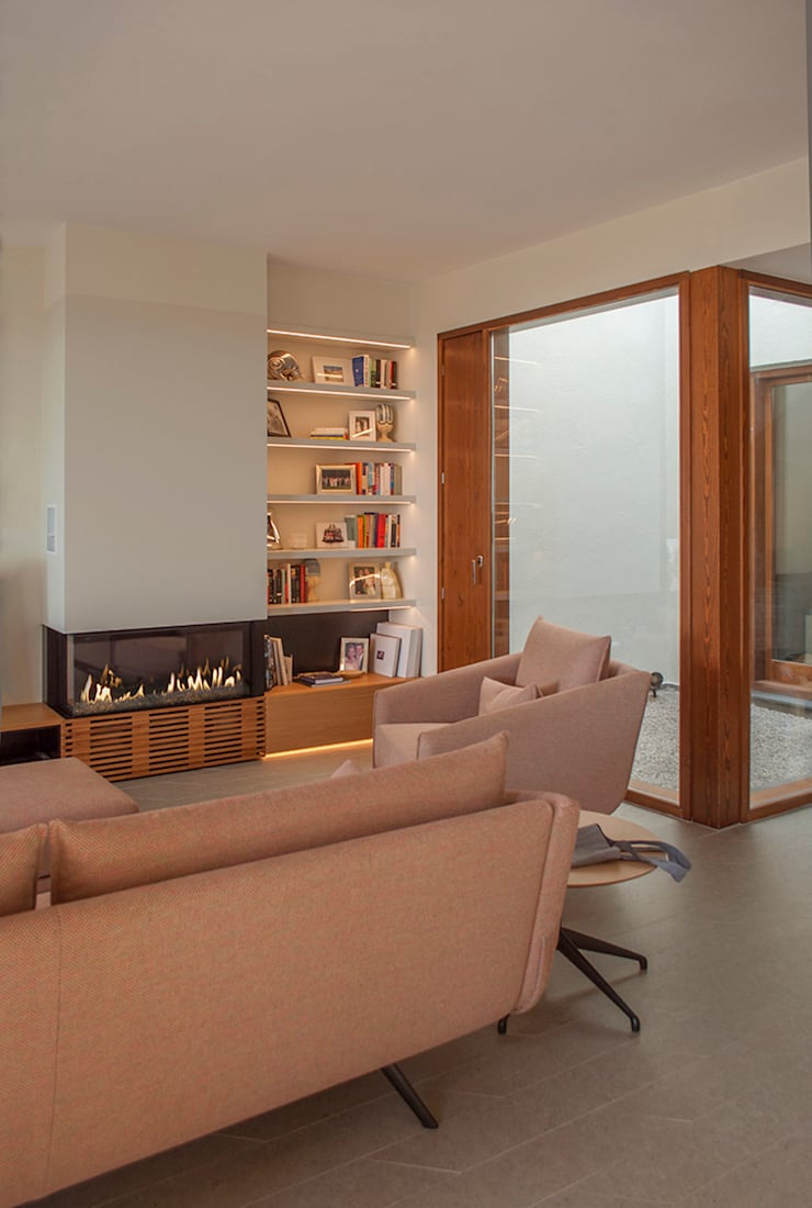 Salón: Salones de estilo  de Rardo - Architects
