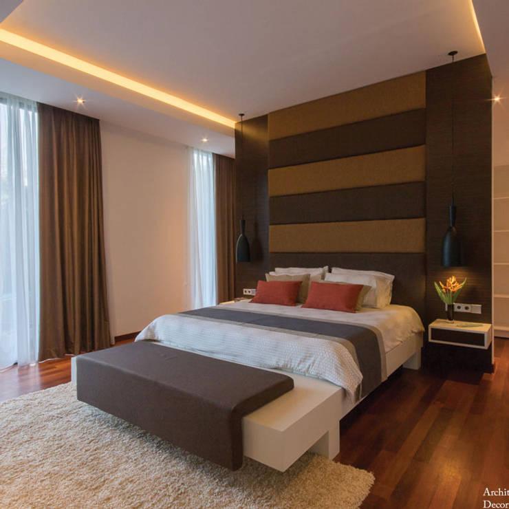 Terra Development Groupが手掛けた寝室