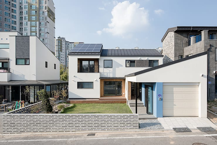 진월재 : 소하  건축사사무소    SoHAA의  주택,