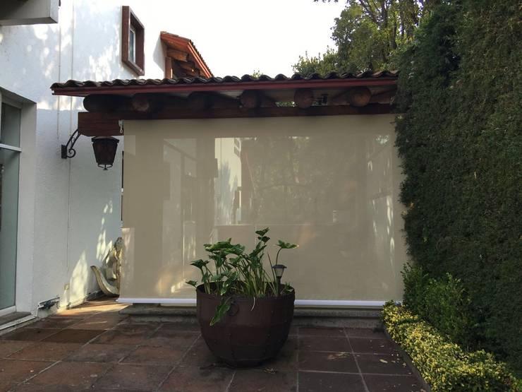 Casas de estilo  por Materia Viva S.A. de C.V.