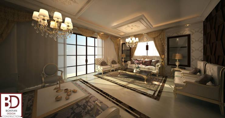 Living room تنفيذ bonyan
