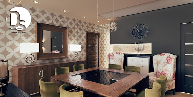 Dining room تنفيذ Devine Designs