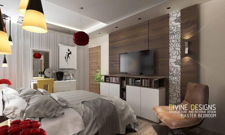 غرفة نوم تنفيذ Devine Designs
