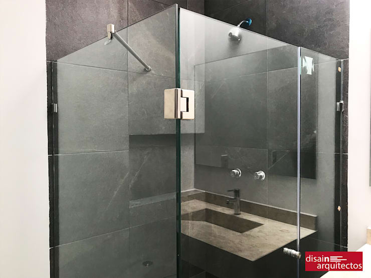 Casa Nõbu: Baños de estilo  por disain arquitectos