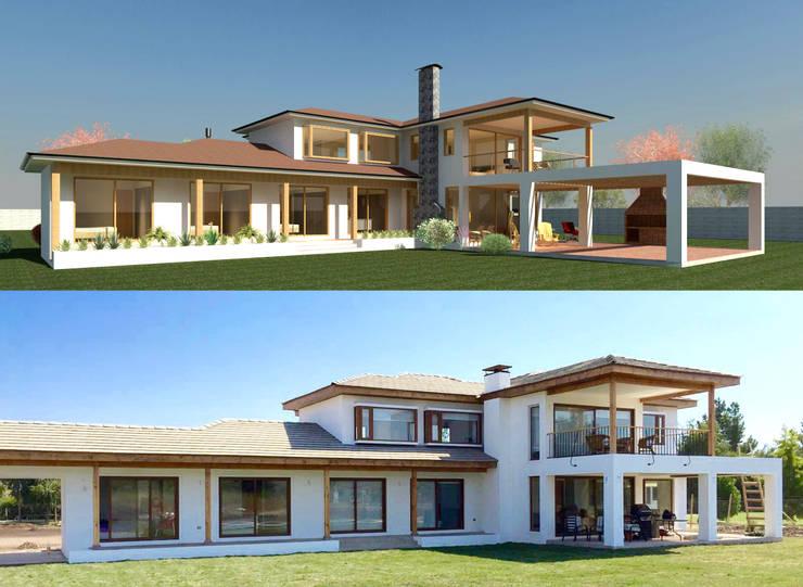 Casa Don Ladislao:  de estilo  por AtelierStudio