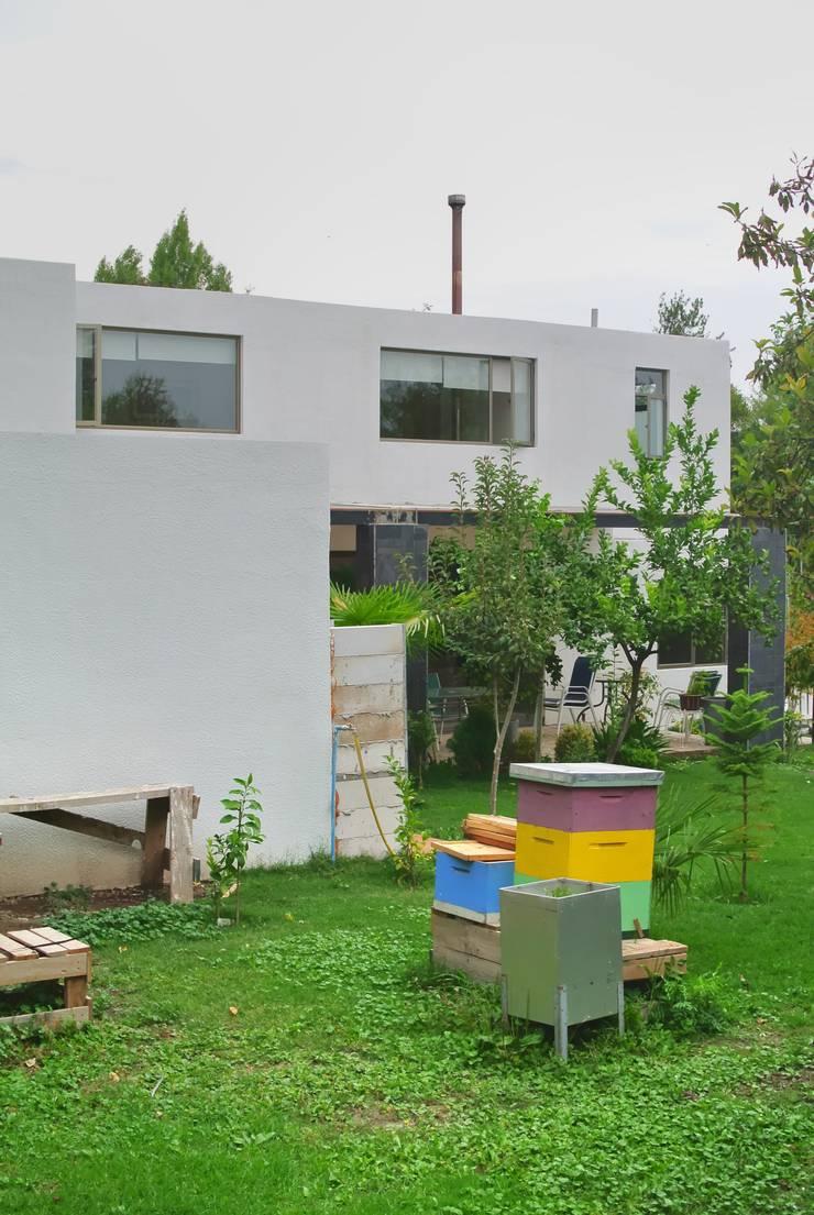 Casa Lo Cañas: Casas de estilo  por AtelierStudio
