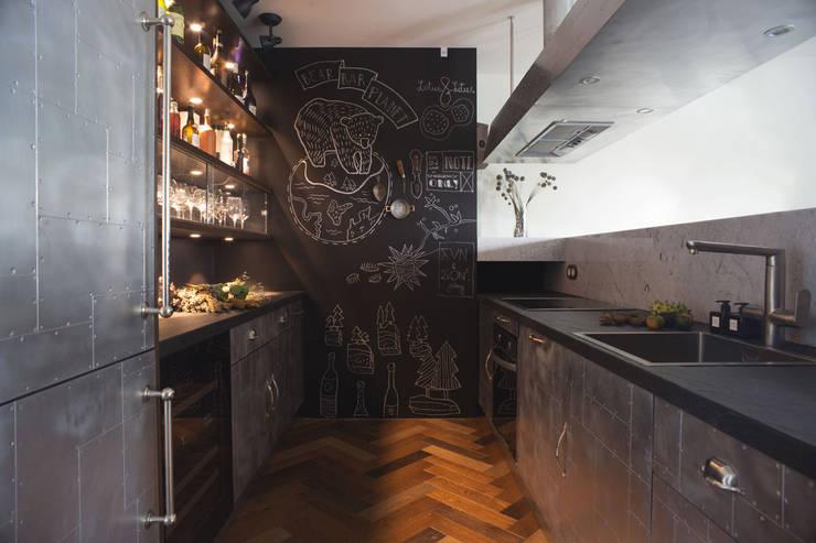 Chique Industriele Keuken : Industriele keuken luxe de chique industri le keuken van jean