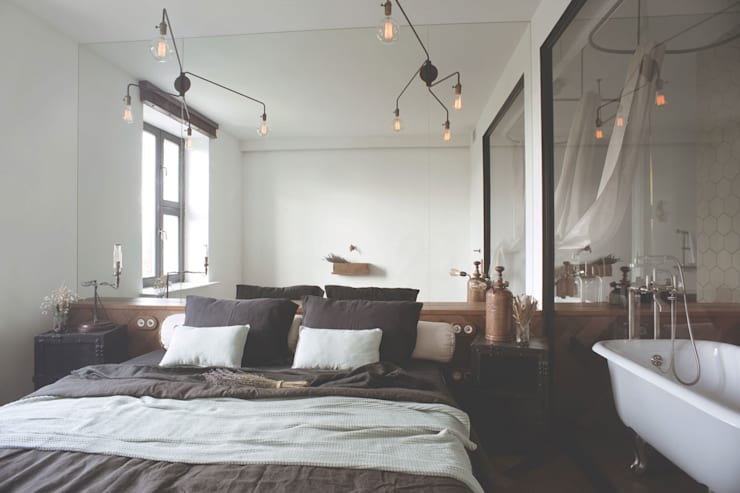 industrial Bedroom by Archventil - Architecture and Design Studio