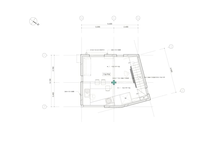 2F FLOOR PLAN: yoonzip interior architecture의