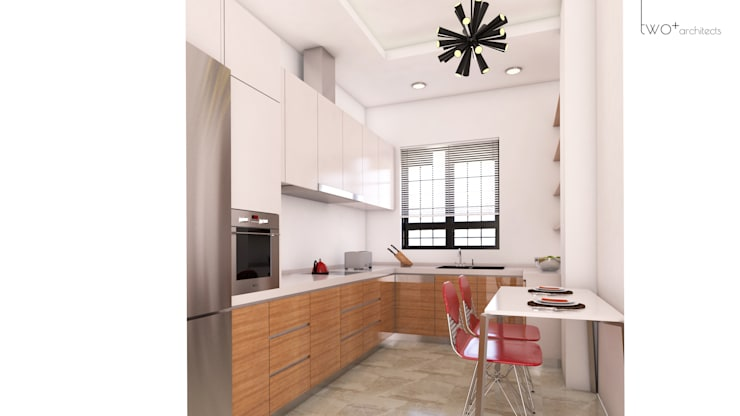 Two+architects – Suadiye Konut: modern tarz Mutfak