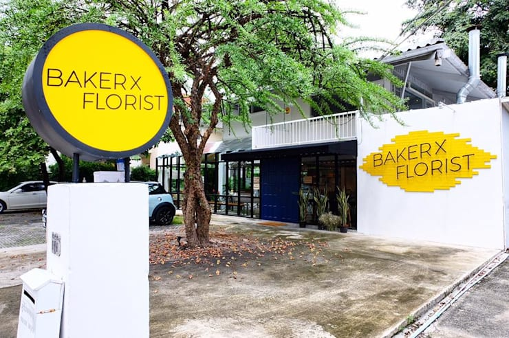 Baker x Florist:   by atelier AT