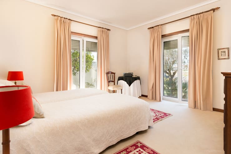 Habitaciones de estilo clásico por Miguel Marnoto - Fotografia