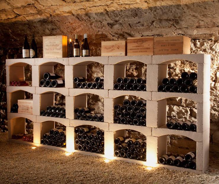 Classic wijnrek van steen.:   door Exaro, Klassiek Steen