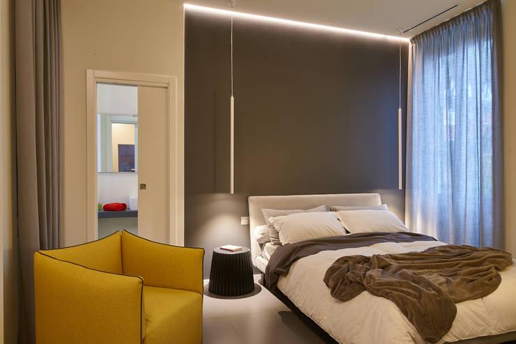 غرفة نوم تنفيذ ArchiDesign LAB