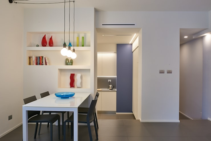 غرفة المعيشة تنفيذ ArchiDesign LAB