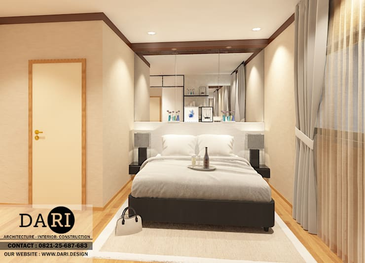 PADDINGTON 2 BEDROOM :  Bedroom by DARI
