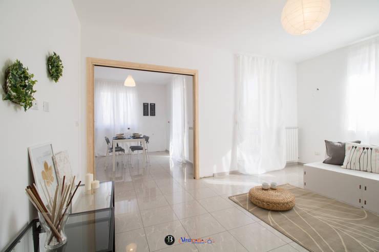 ELISABETTA_Soggiorno di ErreBi Home Moderno