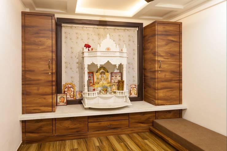 Puja Ghar:  Artwork by Spacecraftt Architects