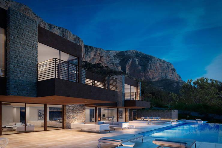 Casas de estilo  por SINGULAR STUDIO