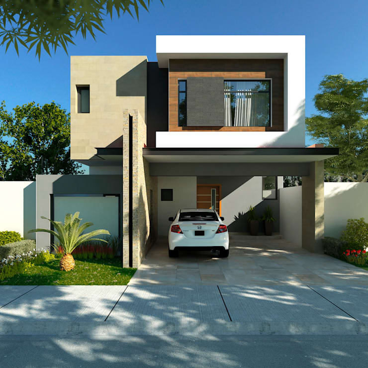 Casa Residencial 220m2:  de estilo  por GA-Arquitecto