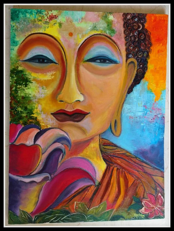 Vivid colors of Peace:  Artwork by D'art Zone,