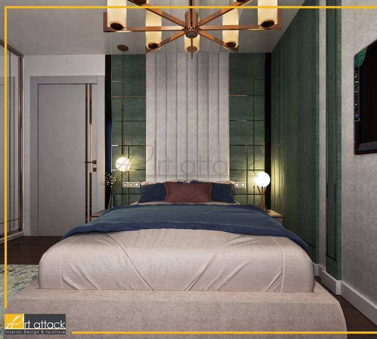 فيلا تاج سلطان:  غرفة نوم تنفيذ Art Attack
