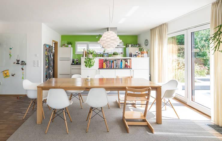 Projekty,  Jadalnia zaprojektowane przez wir leben haus