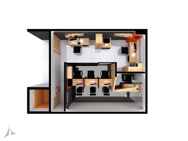 Planta 3D General de Jorge Osorio Arquitecto Industrial