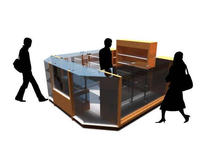 RENDER ilustrativo 2:  de estilo  por Jorge Osorio Arquitecto, Minimalista Vidrio