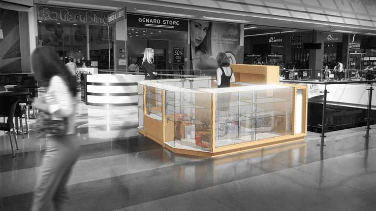RENDER fotomontado:  de estilo  por Jorge Osorio Arquitecto, Minimalista Vidrio