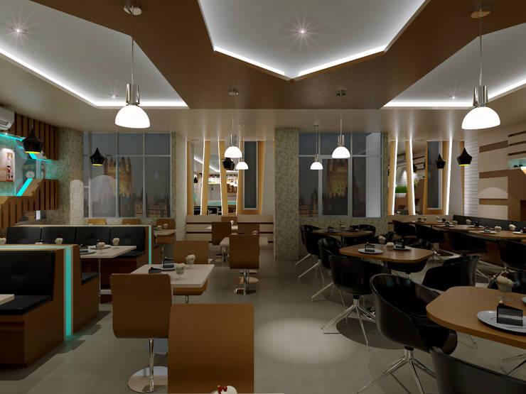 Cafe Remaja Jl. Ayani Pontianak:  Restoran by Dadudesign