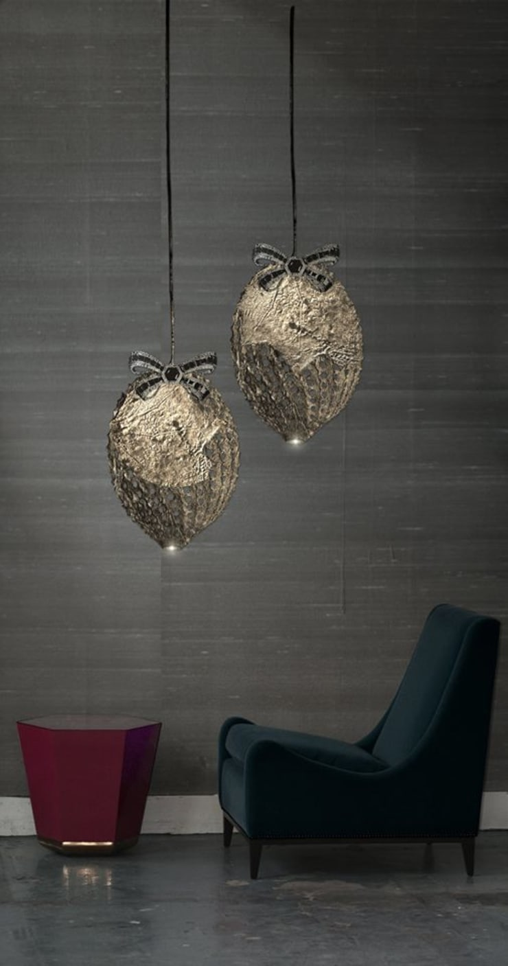 LED wallcoverings in your space:  Walls & flooring by Spacio Collections