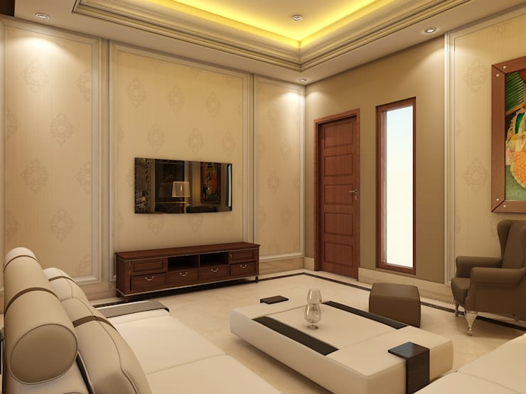 FAMILY LOUNGE:  Living room by CONCEPTIONS