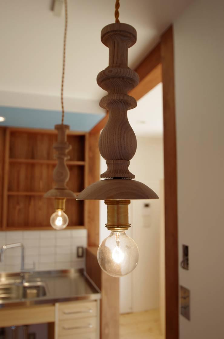 柏市K邸一戸建リノベーション: K+Yアトリエ一級建築士事務所が手掛けたキッチンです。,