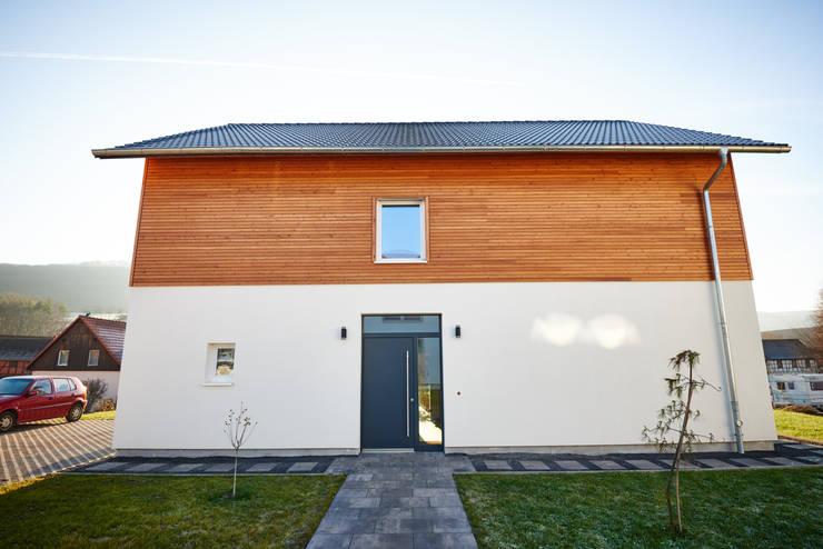 Projekty,  Dom pasywny zaprojektowane przez PassivHausPartschefeld